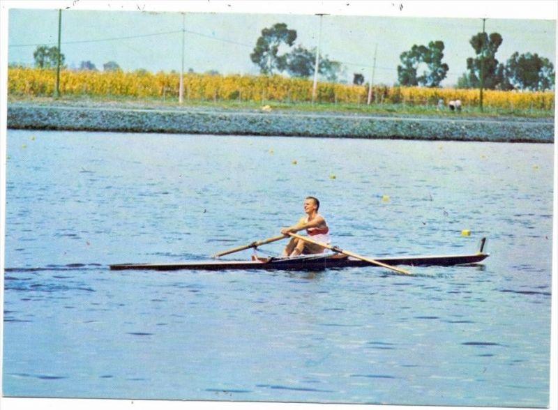 SPORT - RUDERN / Rowing - Olympia 1968 Mexico, Jochen Meissner
