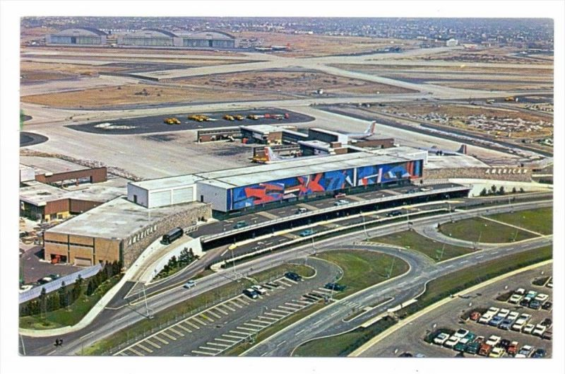 FLUGHAFEN / AIRPORT - NEW YORK IDLEWILD; American Airlines Terminal