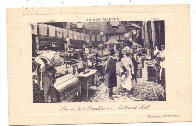 M Bel Meubles Furniture Meubilair M Bel Abteilung Au Bon Marche Paris 1912 Nr