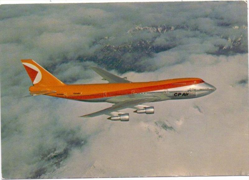 FLUGZEUGE - BOEING 747-200, C P AIR