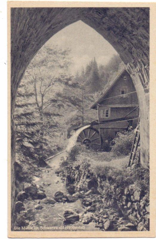 WASSERMÜHLE - Water Molen, water mill, Höllental / Schwarzwald