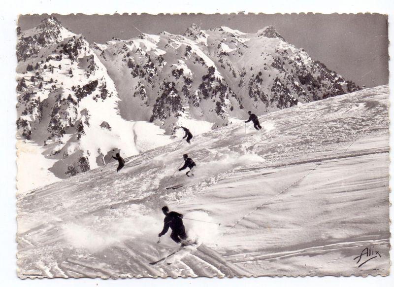 WINTERSPORT - SKILAUFEN, La Mongie / F, 1965