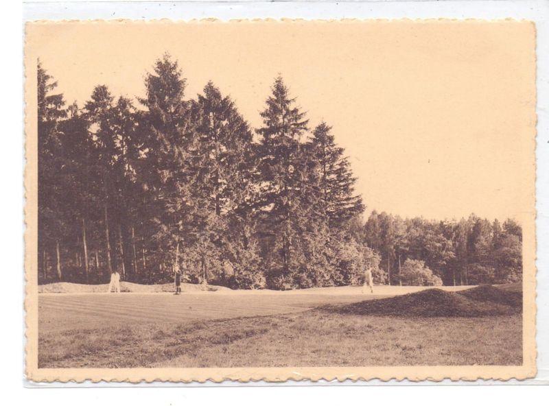 SPORT - GOLF - Course, Chateau d'Ardennne, Approach de Green Nr. 1