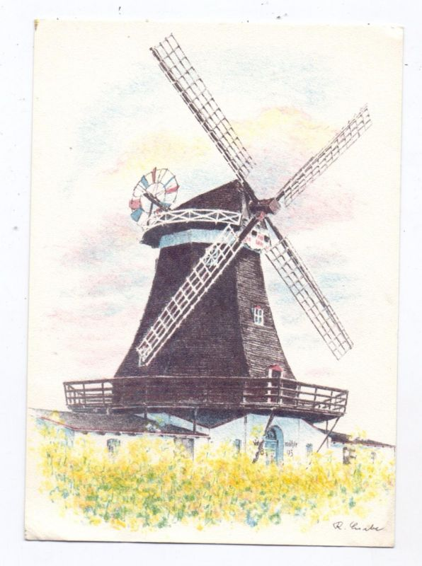 WINDMÜHLEN / Mills / Molen / Moulin - FEHMARN, Petersdorfer Mühle