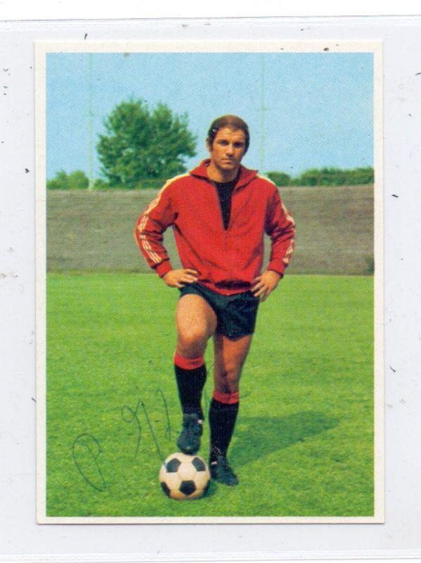 SPORT - FUSSBALL- EINTRACHT FRANKFURT - Dr. PETER KUNTER, Sammelbild 1972, Autogramm