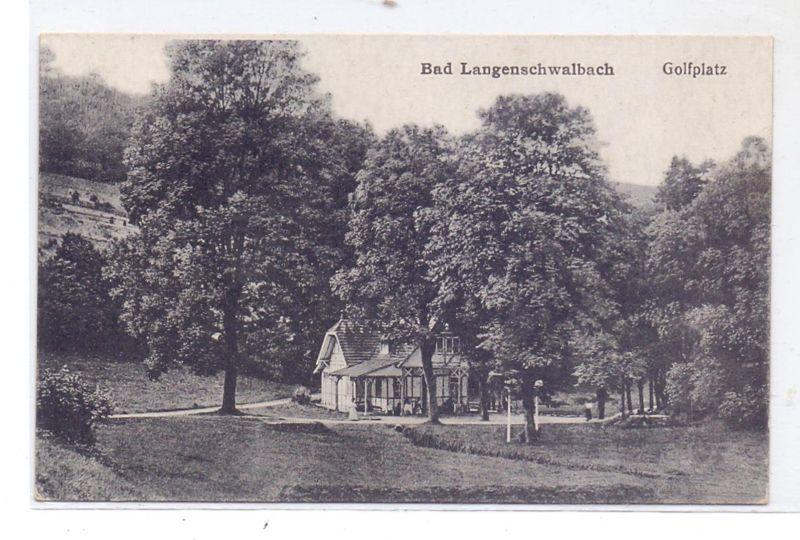 SPORT - GOLF - Golfplatz, Golfhaus Bad Langenschwalbach, 192...