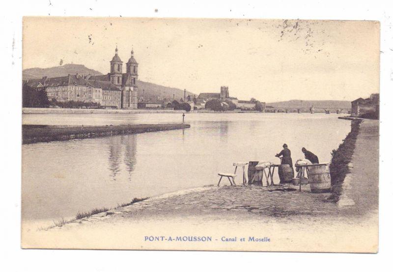 BERUFE - WASCHFRAUEN / Laver les femmes / Wash Women - Pont-a-Mouson, 1914