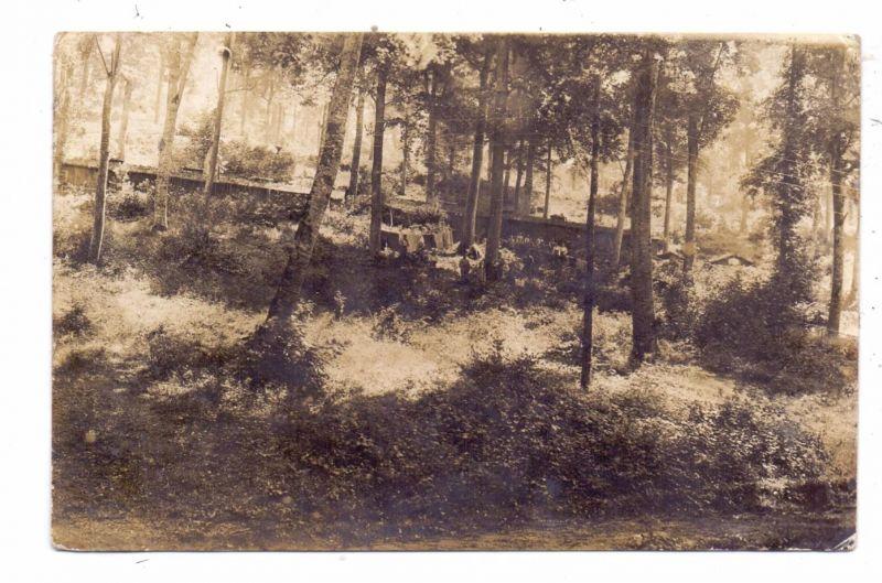 MILITÄR - 1.Weltkrieg, Frankreich, Waldstellung Bayer.Res.Feldart.Rgt.5, 6.Battr., Juni 1917, Stellung vor Verdun