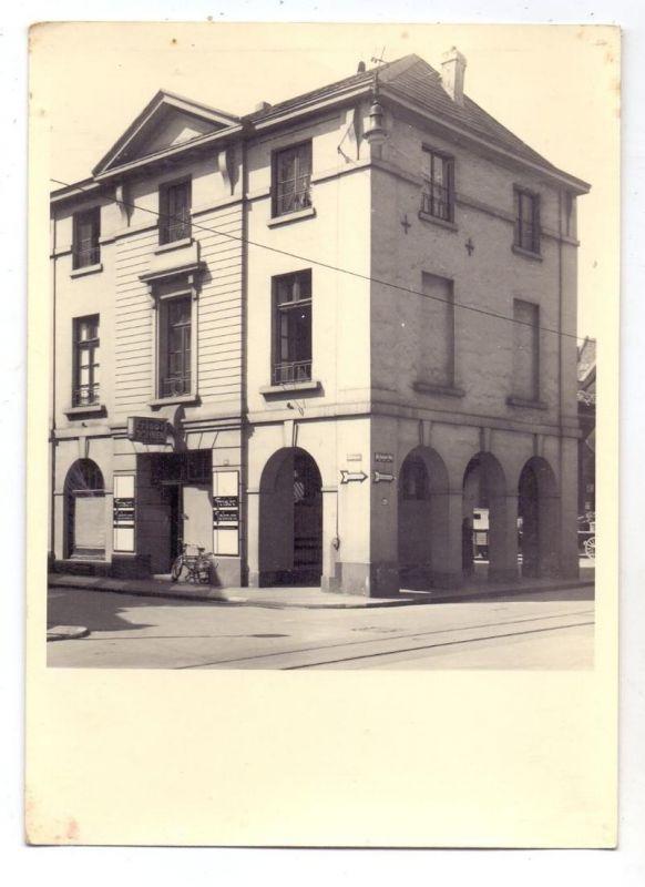 4150 KREFELD, Eckhaus Königstrasse / St. Anton Strasse, Frisör Johnen, Photo 17,8  x12,7 cm