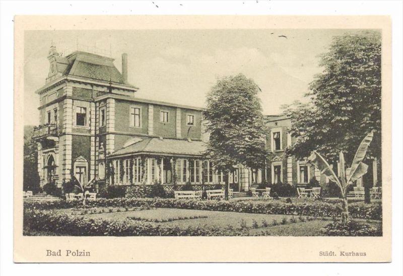 POMMERN - BAD POLZIN / POLCZYN Zdroj, Städt. Kurhaus, 1935