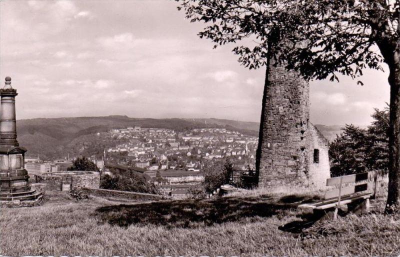 5802 WETTER, Blick vom der Ruine Volmarstein, 1957 0