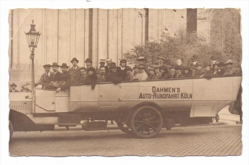 5000 KÖLN, Omnibus - Dahmen's Auto-Rundfahrt, Knick 0