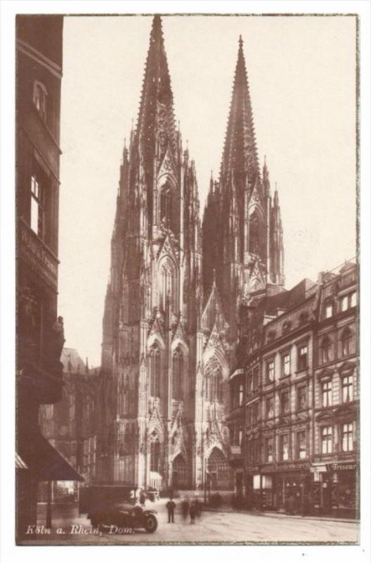 5000 KÖLN, Komödienstrasse, Kölner Dom von Westen 0