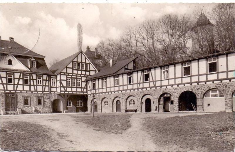 5242 KIRCHEN - FREUSBURG, Jugendburg, 1956, Stempel leicht durchgeschlagen 0