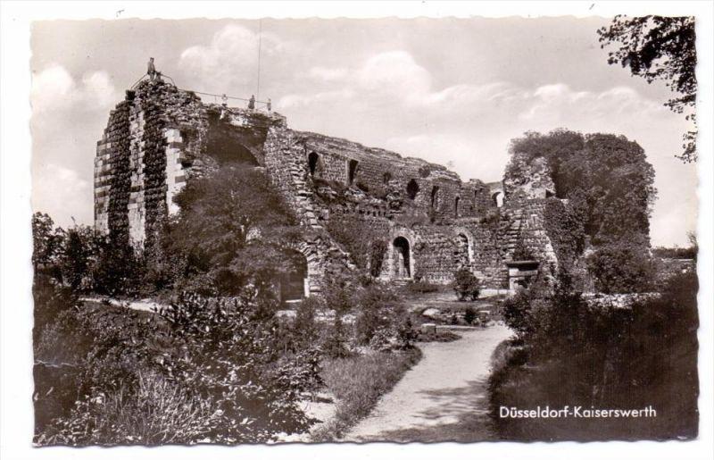 4000 DÜSSELDORF - KAISERSWERTH, Ruine Kaiserpfalz, 1964