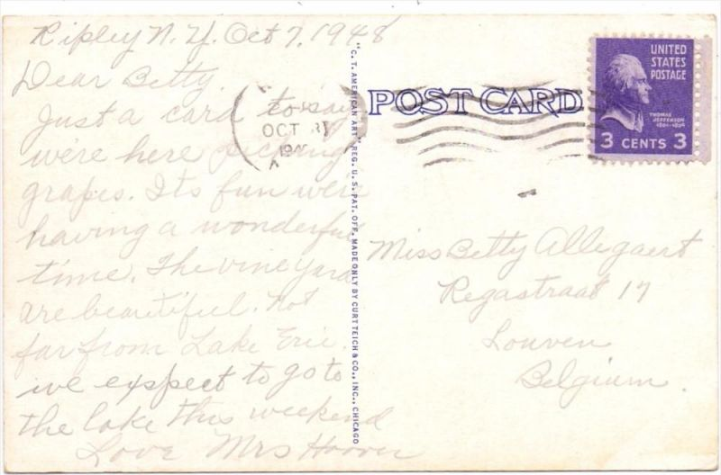 USA - PENNSYLVANIA - North East pennsylvania, St. Mary's College, 1948 1