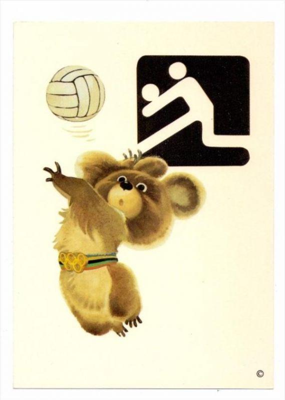 SPORT - VOLLEYBALL, Olympia Moskau 1980