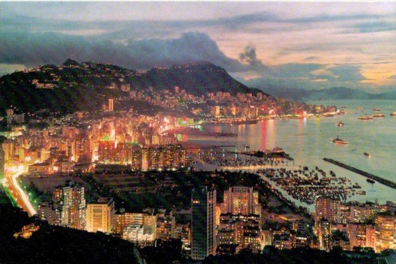 HONGKONG - Glittering Night View 0