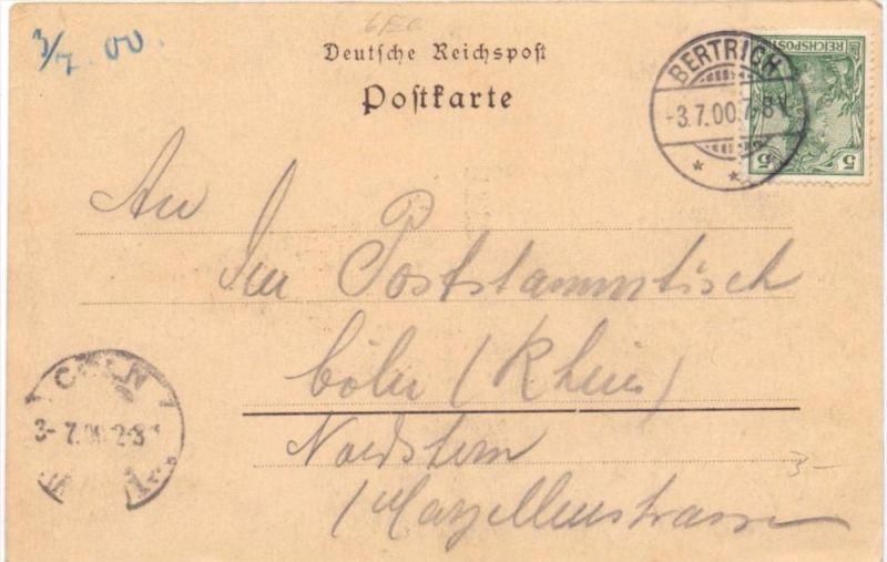 5582 BAD BERTRICH, Gruß aus..., Käsegrotte, 1900 1