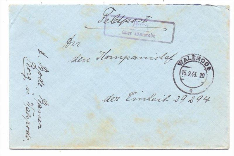 3036 BOMLITZ - BORG, Postgeschichte, Landpoststempel
