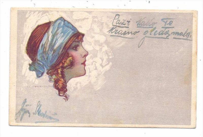 KÜNSTLER / ARTIST - TITO CORBELLA, 1923