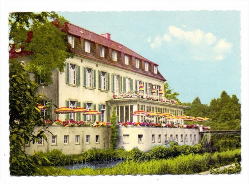 4650 GELSENKIRCHEN - BUER, Schloss Berge, kl. Druckstelle 0