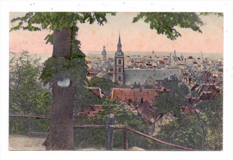4800 BIELEFELD, Partie beim Restaurant Berglust, 1910, color 0