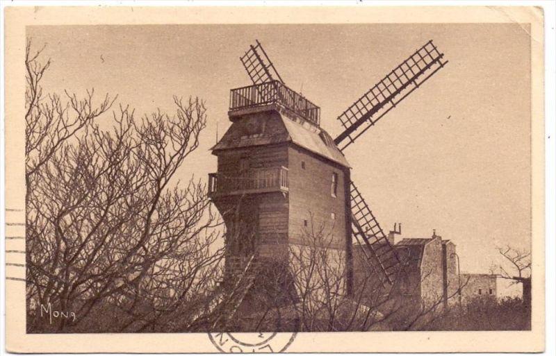MÜHLE - WINDMÜHLE / Mill / Molen / Moulin - PARIS, Le Moulin de la Galette, 1931, kl. Eckknick
