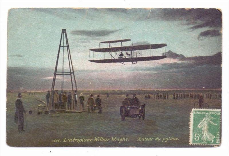 FLUGZEUGE - Wilbur Wright, 1908