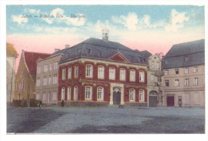 5170 JÜLICH, Rathaus 0