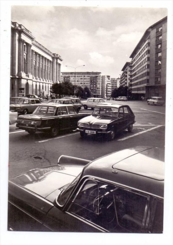 AUTO - BMW / RENAULT 16, Bukarest
