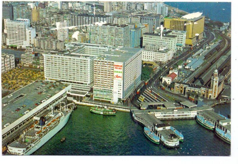 HONGKONG - Hongkong Hotel, air view