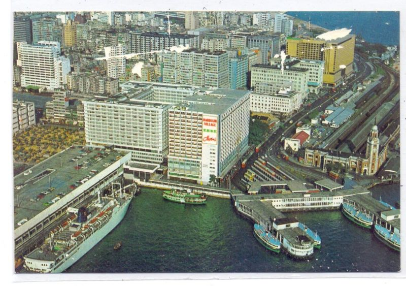 HONGKONG - The Hongkong Hotel, air view