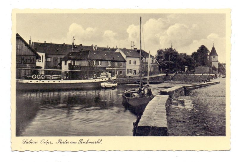 Ostpreussen labiau polessk partie am fischmarkt nr for Am fischmarkt