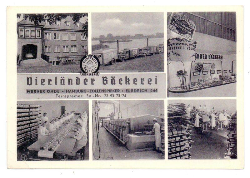BERUFE - BÄCKER / Baker / Boulanger / Bakker - Vierländer Bäckerei Hamburg - Zollenspieker, kl. Druckstelle