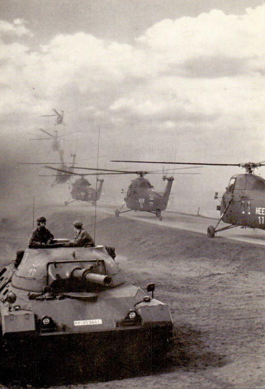 MILITÄR - BUNDESWEHR, Helikopter / Hubschrauber & Panzer