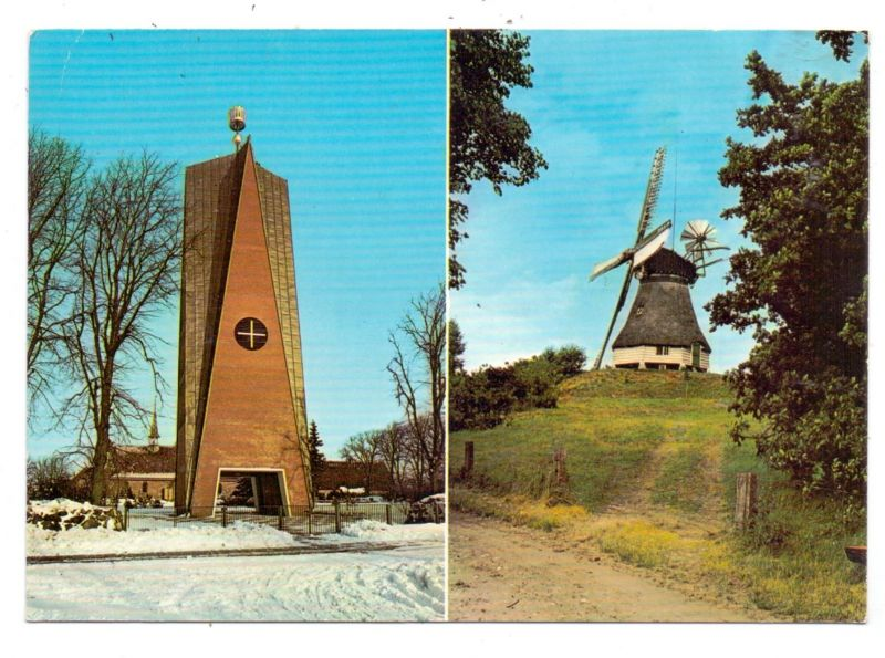 WINDMÜHLEN / Mills / Molen / Moulin - ST. MICHAELISDONN, Hoper Mühle