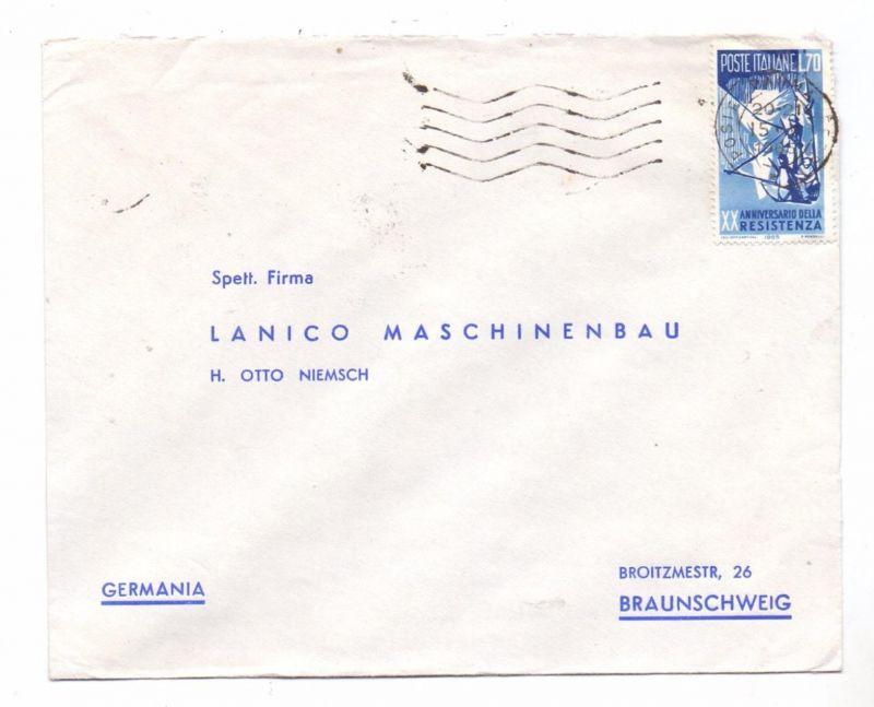 ITALIA - 1965, Unificato 993, Resistenca