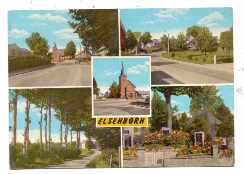 B 4750 BÜTGENBACH - ELSENBORN, Dorfansichten