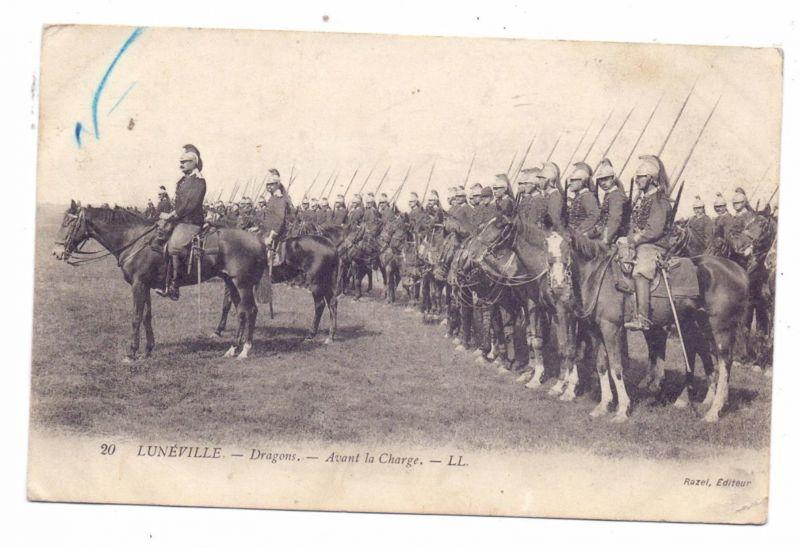 MILITÄR - Uniformen, Französische Dragoner, 1914