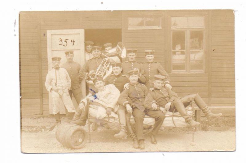 B 4750 BÜTGENBACH - ELSENBORN, TUBA - Spieler, 1913