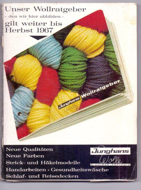 5100 AACHEN, Junghans Wollratgeber 1967, Inge Meysel Werbung, Aachen Kalender 1969 & 1970