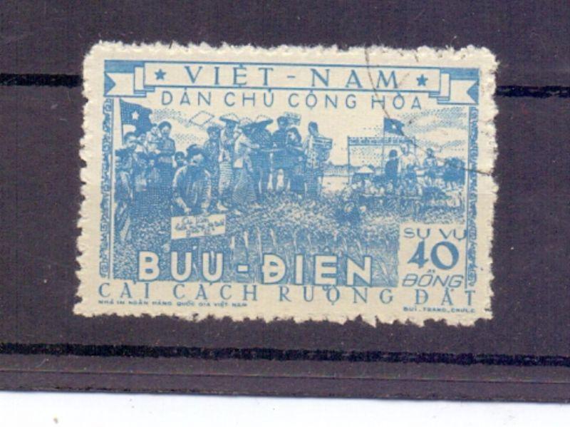 VIETNAM - 1955, Michel D6a, gestempelt