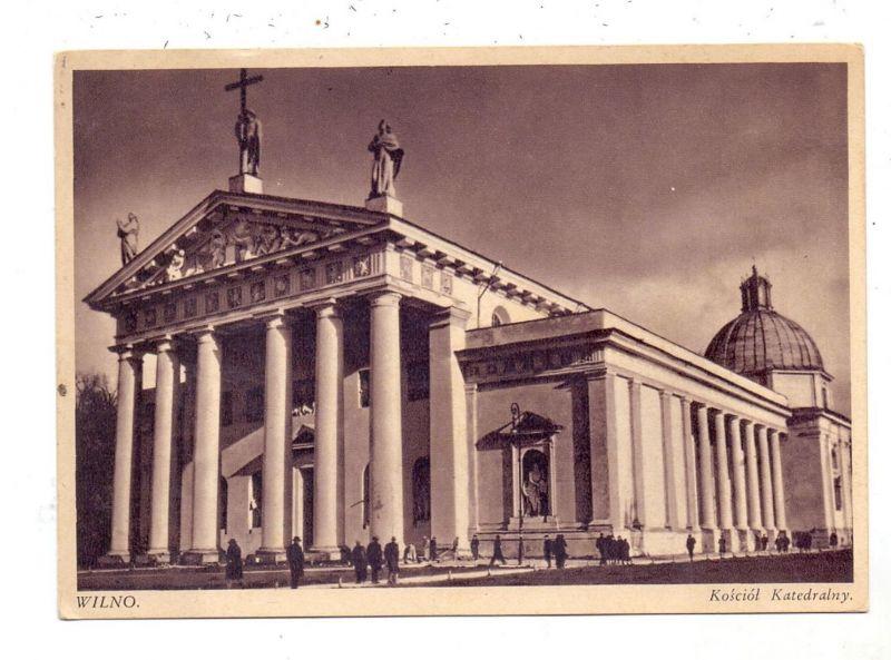 LIETUVA / LITAUEN - VILNIUS / WILNA, Kathedrale