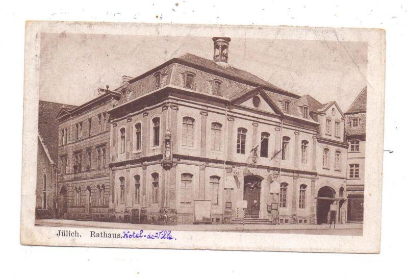 5170 JÜLICH, Rathaus, 1920