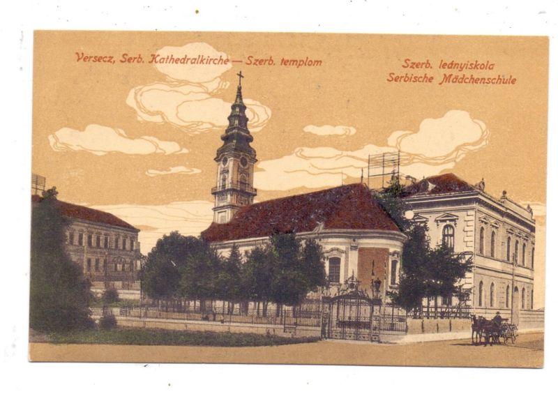 SRB 26300 VRSAC, Serbische Kathedralkirche, Serbische Mädchenschule