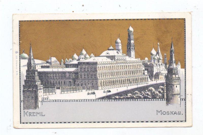 RU 101000 MOSKWA / MOSKAU / MOSKOW - Kreml, Goldglanz-Litho, 1899