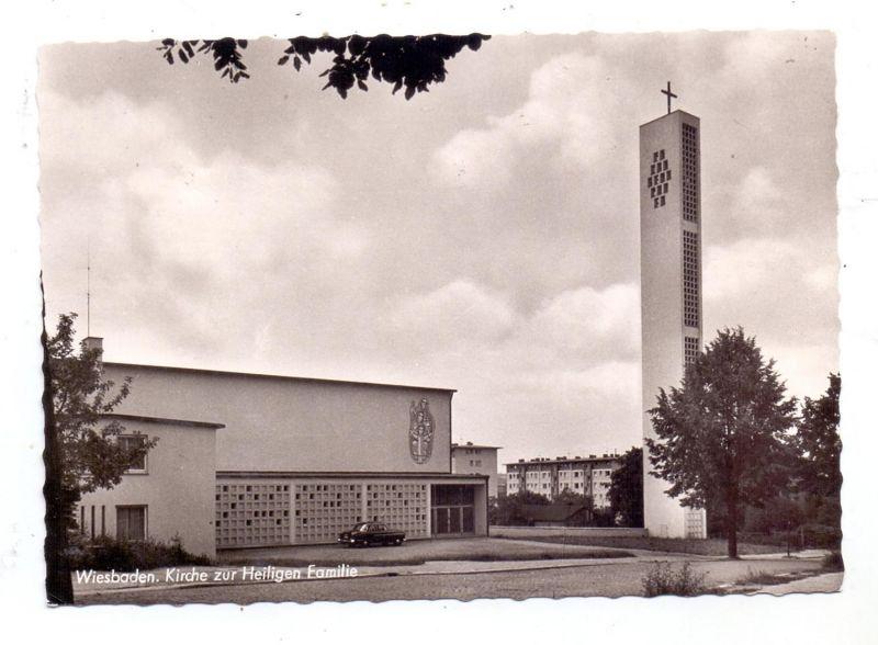 6200 WIESBADEN, Kirche zur heiligen Familie