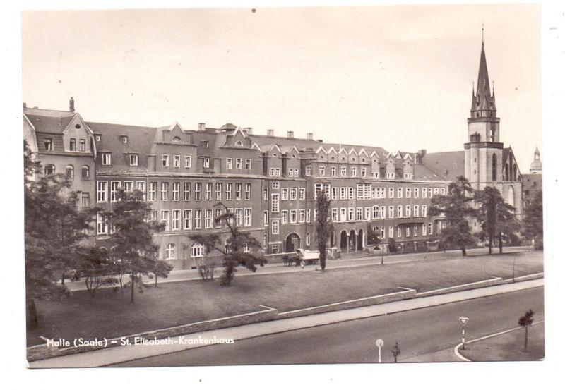 0-4000 HALLE / Saale, St. Elisabeth Krankenhaus, 1964