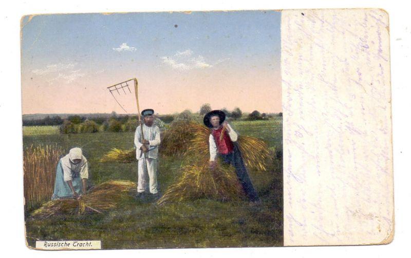 LANDWIRTSCHAFT, Heuernte in Russland, 1915